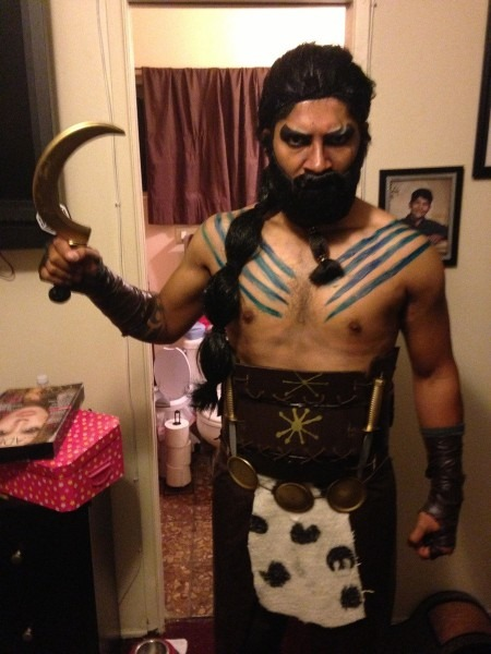 Homemade Khal Drogo Costume!   Pics