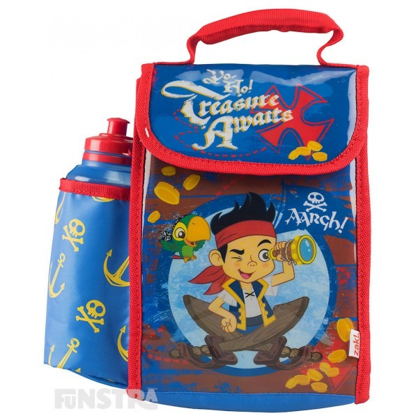 Jake And The Never Land Pirates  Lunch Bag With Drink Bottle