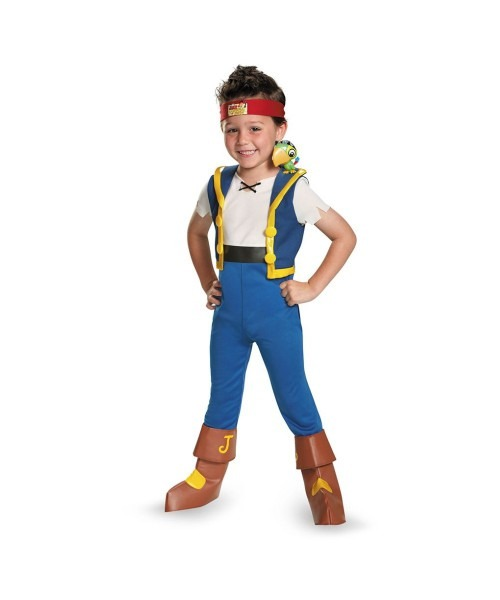 Jake And The Neverland Pirates Light Pirate Costumes, Jake The