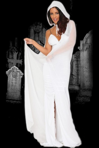 Sexy Halloween Spirit Ghost Costume For Adults