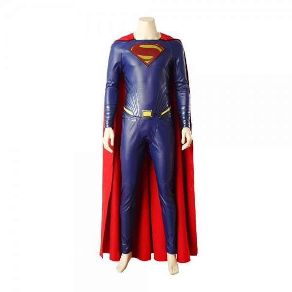 Justice League Superman Cosplay Costume Halloween Clothing Full Set