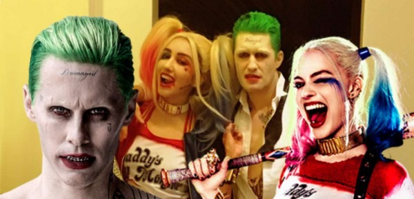 Matthew Morrison And Wife Show Off Joker And Harley Halloween Costumes