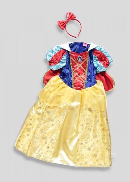 Kids Snow White Dress Up Costume (3