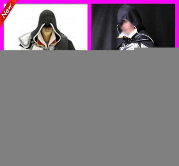 Kids Assassin's Creed Ii Costumes Cool Custom Made Black