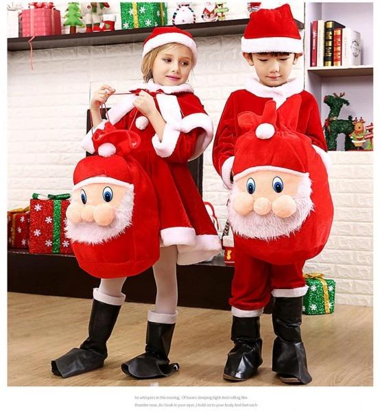 2019 Kids Christmas Santa Costume Toddler Children Clothes Romper