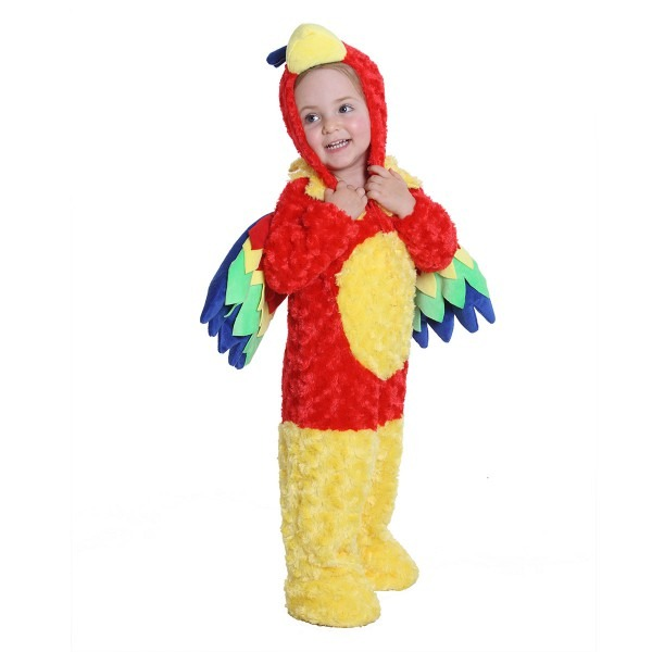 Kids Parrot Halloween Costume For Baby Girls And Boys