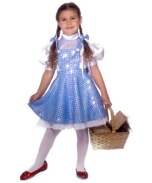 Kids Wizard Of Oz Dorothy Movie Costume