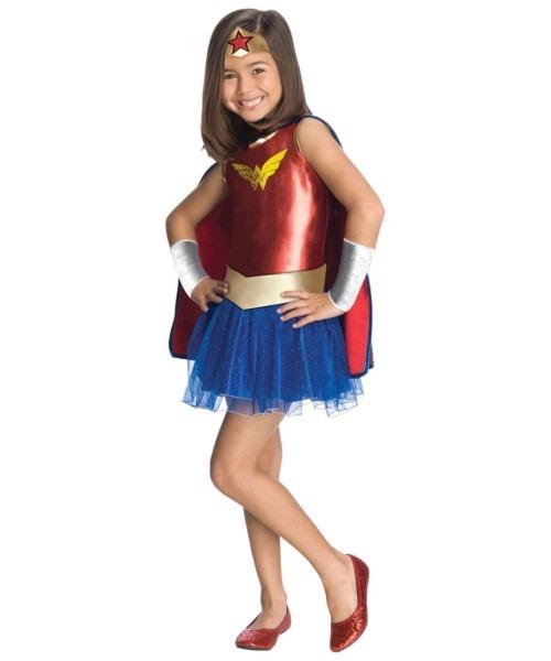 Wonder Woman Tutu Baby Movie Superhero Costume