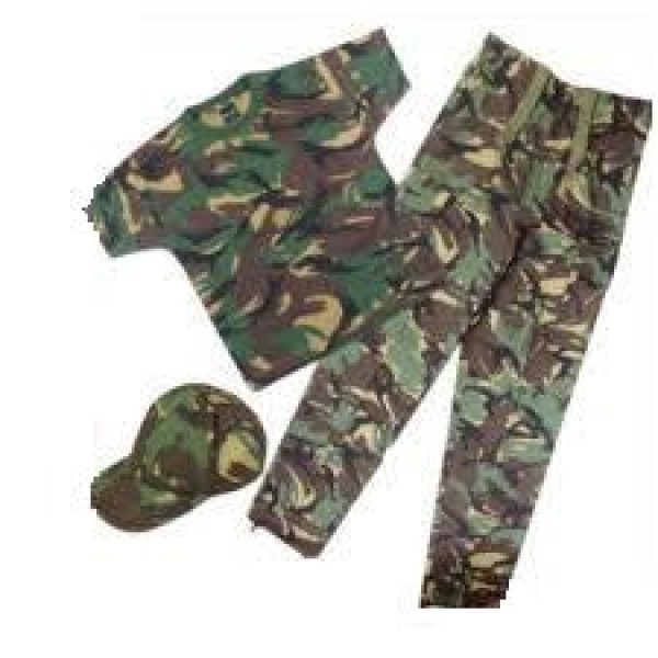 Kids Army Outfit, Camosuit ,tee Shirt