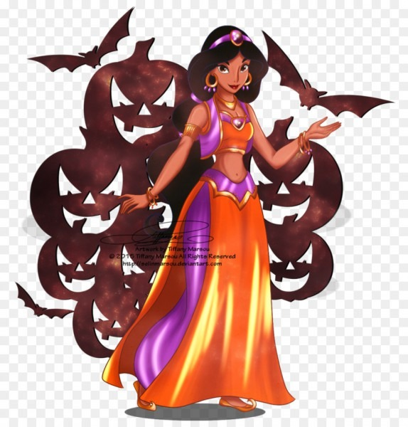 Princess Jasmine Aladdin Belle Halloween Disney Princess