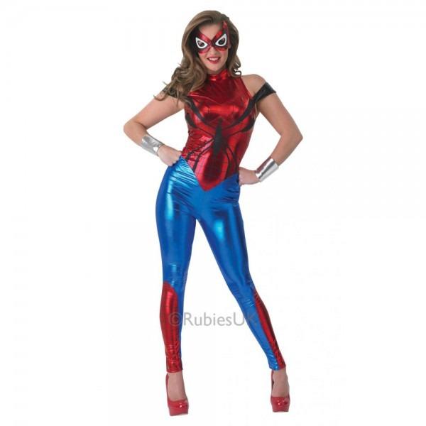 Ladies Avengers Marvel Superhero Women Heroine Adult Fancy