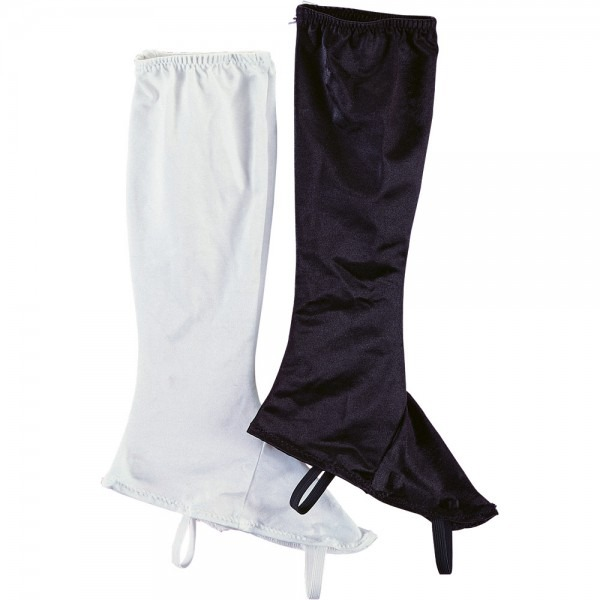 Ladies Stretch White Boot Topss