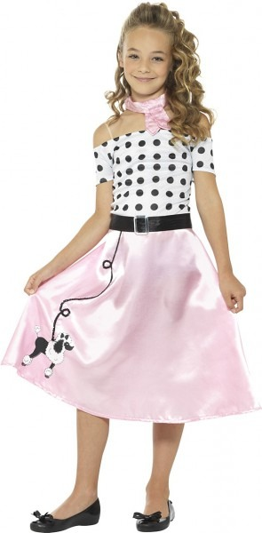 50's Poodle Girl Costume