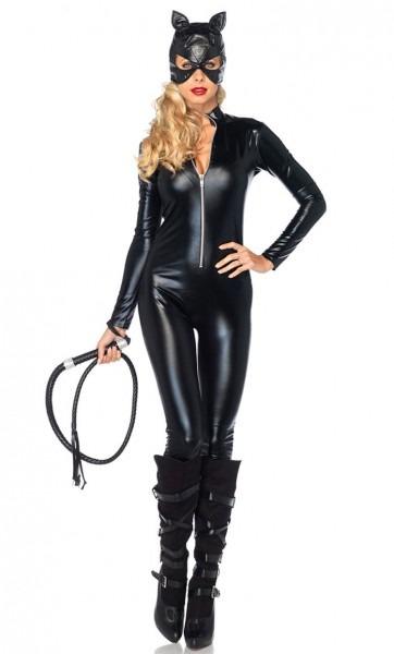 Sexy Cat Woman Super Hero Justice League Avengers Halloween