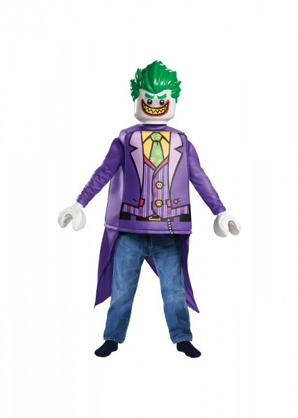 Lego Batman Boys Joker Costume