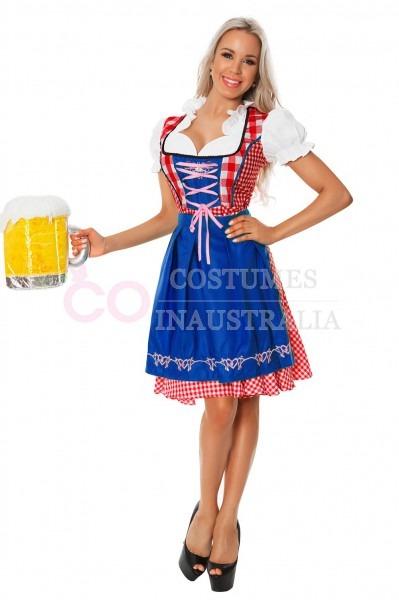 German Costumes For Women & Ladies Beer Costume Womens Oktoberfest
