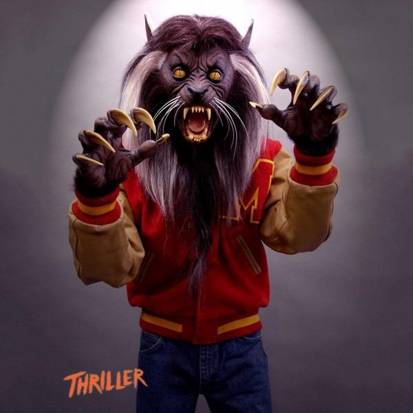 Michael Jackson Thriller Werewolf Costume For Kids
