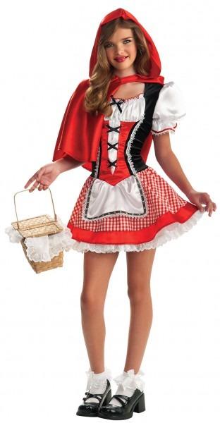 48 Little Red Riding Hood Halloween Costume Teenager, Alpine Red