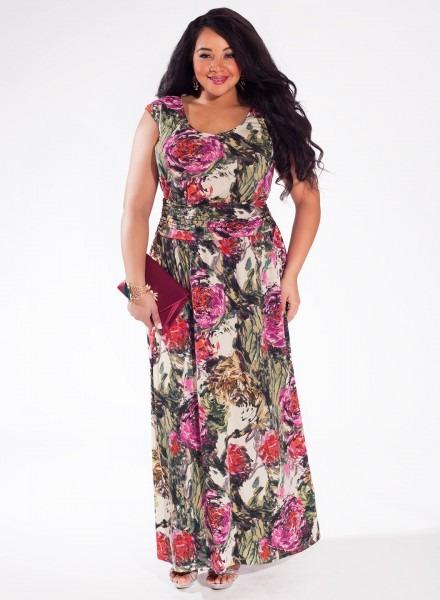Long Hippie Dresses 2018 For Plus Size