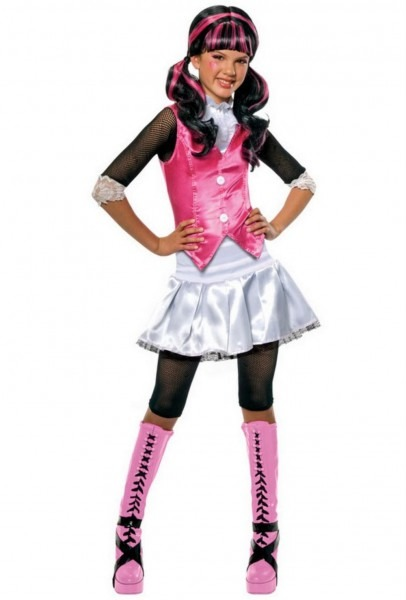 Girl's Draculaura Monster High Costume