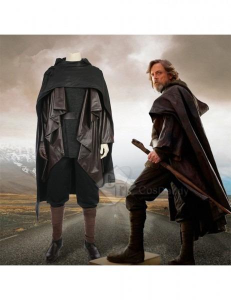 Star Wars Viii The Last Jedi Luke Skywalker Costume