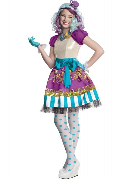 Madeline Hatter Ever After High Costume For A Girl  The Coolest