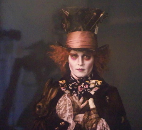 Johnny Depp As Mad Hatter Takes Creepy To A Whole New Level