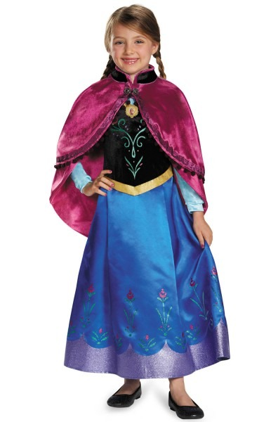 Disney Frozen Anna Traveling Prestige Child Costume
