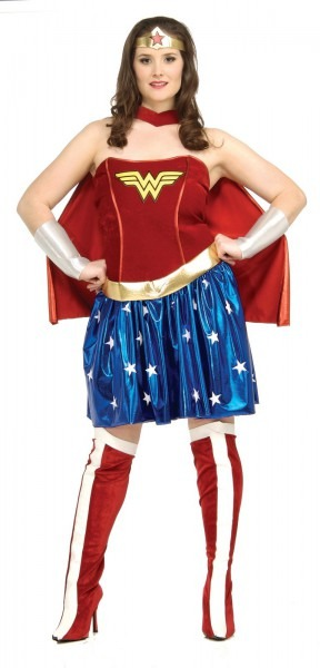 Wonder Woman Plus Size Costume By Rubies