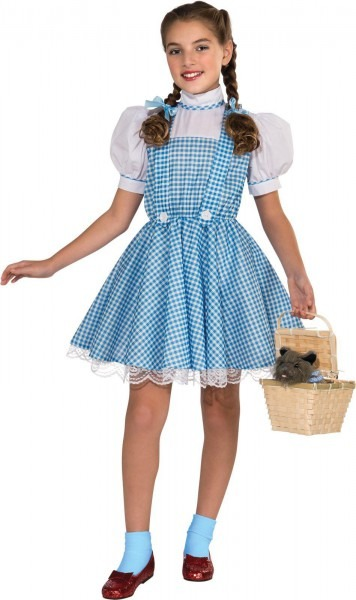 The Wizard Of Oz Dorothy Deluxe Child Costume By Rubies