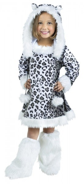 Snow Leopard Toddler Costume By Fun World