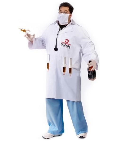 Dr  Shots Male Costume