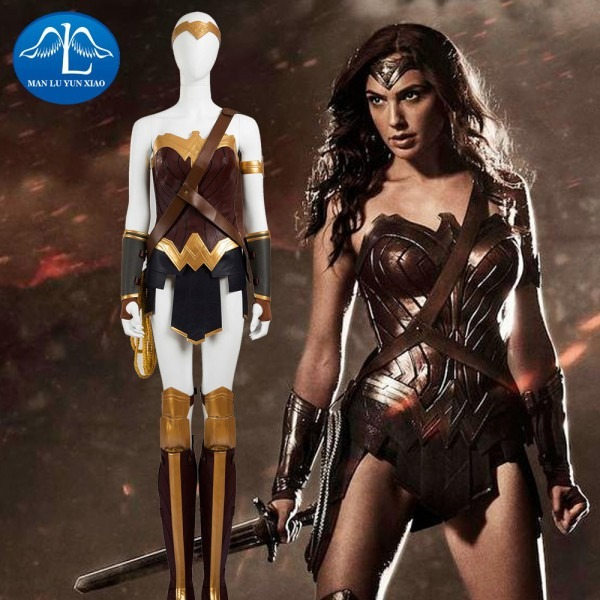 Manluyunxiao 2017 Damski V Superman Batman Cosplay Costume Justice