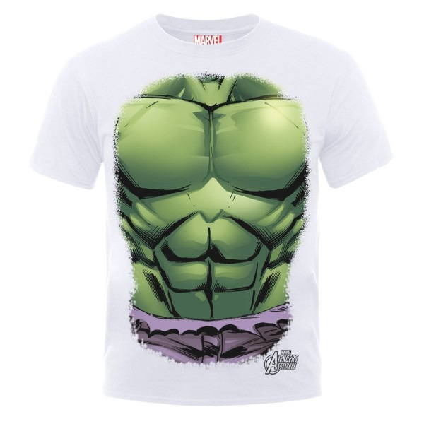 Marvel's The Incredible Hulk Chest Costume White T