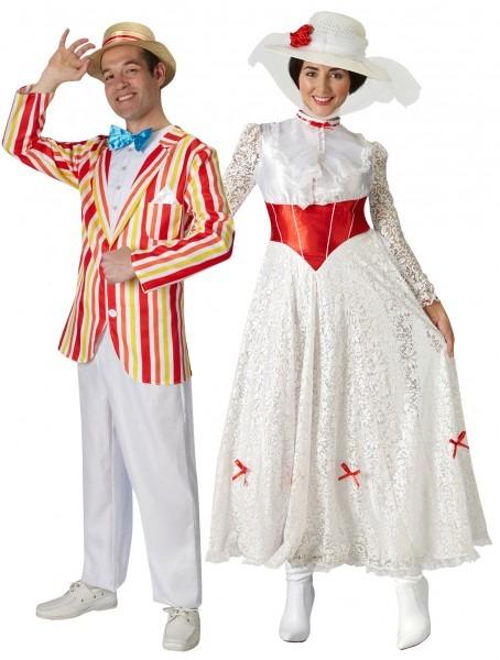 Mary Poppins Or Bert Jolly Holiday Fancy Dress Disney Movie Adults