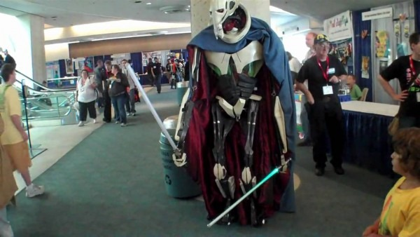 Comic Con 2010 Awesome General Grievous Costume Major Nelson