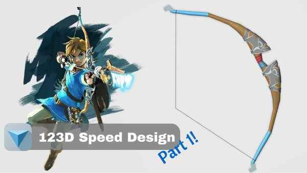 The Legend Of Zelda Breath Of The Wild  Link's Bow Part 1