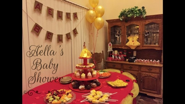 Aella's Baby Shower! Beauty And The Beast Theme