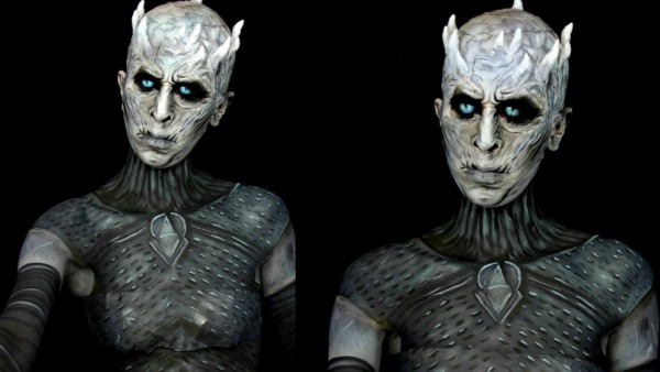 Game Of Thrones  Night's King White Walker Makeup Tutorial