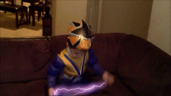 Special Effects Gold Power Ranger Costume Kid Review