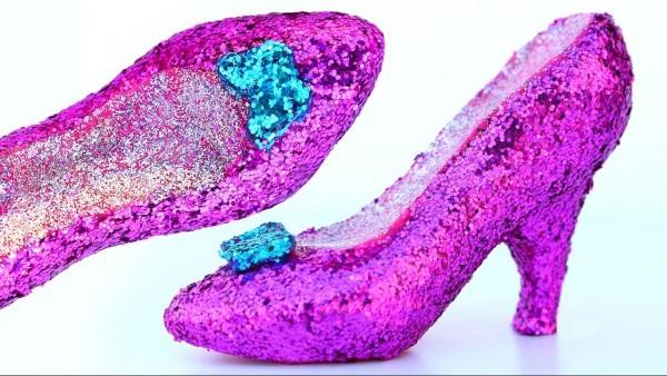 Diy Super Sparkle Play Doh Hot Heels Disney Princess Shoes
