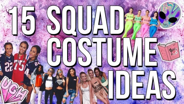 15 Group Halloween Costume Ideas 2017! Last Minute Costumes Ideas