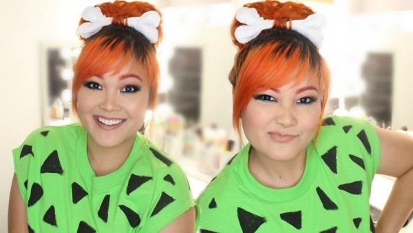 Diy Pebbles Flintstones Halloween Costume (hair, Makeup & Outfit