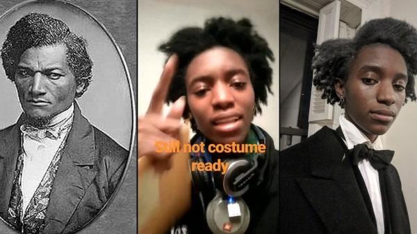 Frederick Douglass For Halloween
