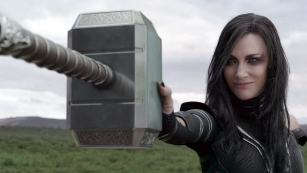Thor Ragnarok  Hela Destroys Thor's Hammer