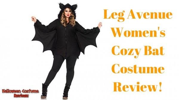 Leg Avenue Women's Cozy Bat Costume Review!