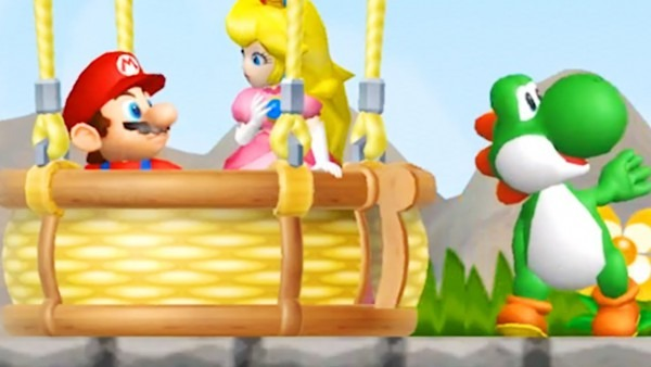 What Happens When Yoshi Rescues Peach