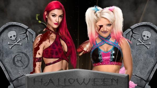 Halloween Spooktacular  Alexa Bliss Vs Eva Marie