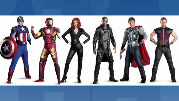 The Avengers' 3d Glasses & Halloween Costumes Revealed