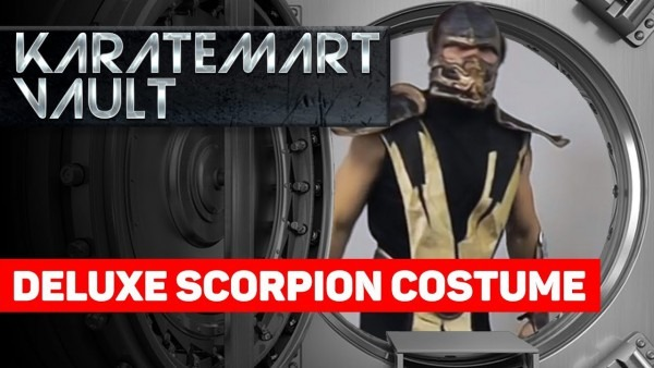 Deluxe Scorpion Costume Demonstration